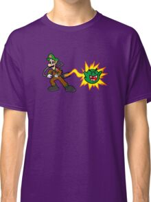 Luigi's Boo-Busters Classic T-Shirt
