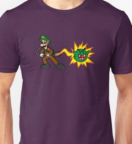 Luigi's Boo-Busters Unisex T-Shirt