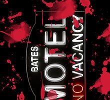 Bloody Bates Motel - iPhone Case by Bryan Freeman