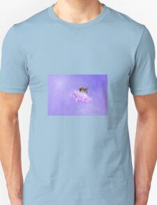 Bee and flower Unisex T-Shirt