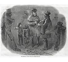 The Victorian Christmas Waits 1848 Photographic Print