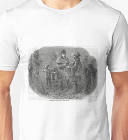 The Victorian Christmas Waits 1848 Unisex T-Shirt