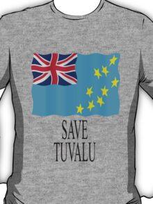 Save Tuvalu - Global warming T-Shirt