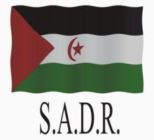 Western Sahara flag One Piece - Short Sleeve