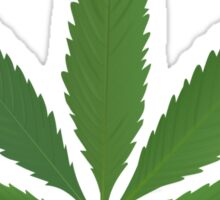 Cannabis Leaf  Sticker