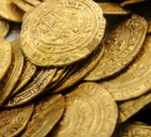 Scuba Divers uncover a hoard of 2000 gold coins from the Fatimid period  Sticker
