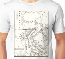 Vintage Brooklyn NY Transit System Map (1912) Unisex T-Shirt