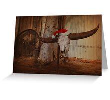 Buffalo Christmas Greeting Card