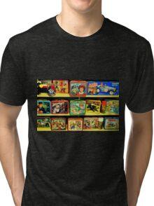 Vintage Lunch Pails Tri-blend T-Shirt