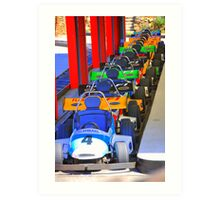 Day at the races! Art Print
