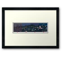NOW IS THE FUTURE - Hill Valley Framed Print