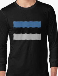 Estonian flag Long Sleeve T-Shirt