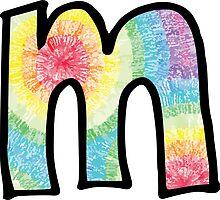 """Tie Dye """"M"""" by embati"""