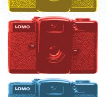Lomo vintage camera pattern Sticker