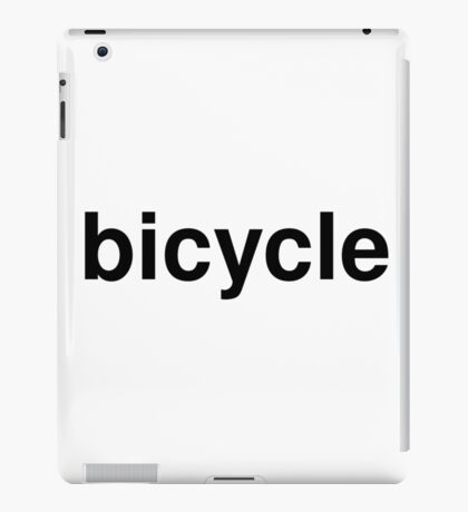 bicycle iPad Case/Skin