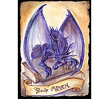 Book Wyrm Photographic Print
