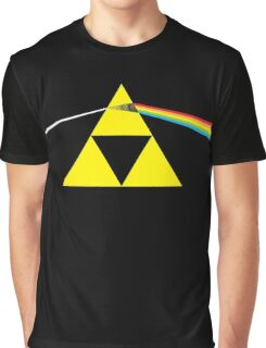The Dark Side of the Triforce Graphic T-Shirt
