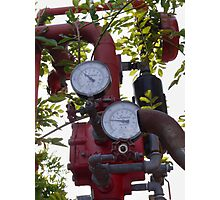 ...Victaulic gauges - Eminönü Photographic Print