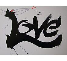 Love-A-love Crow Photographic Print