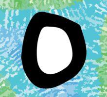 "Tie Dye ""O"" Sticker"