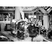 Full Steam Ahead Photographic Print