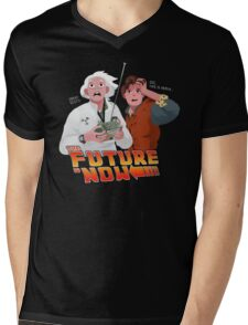 The Future is Now...That's Heavy Mens V-Neck T-Shirt