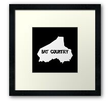 Bat Country Framed Print