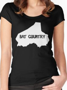Bat Country Women's Fitted Scoop T-Shirt