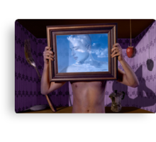 Personal Values (Magritte) Canvas Print