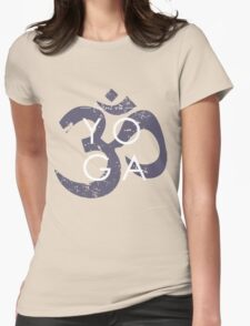 Focus on yoga Womens Fitted T-Shirt