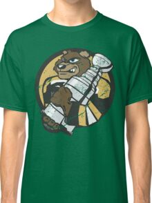 Boston Bruins - Champions! (distressed) Classic T-Shirt