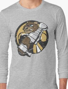 Boston Bruins - Champions! (distressed) Long Sleeve T-Shirt