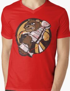 Boston Bruins - Champions! (distressed) Mens V-Neck T-Shirt
