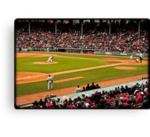 Red Sox game Canvas Print