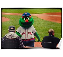 Wally the Green Monster Poster