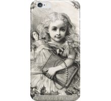 Victorian Child Christmas Presents 1862 iPhone Case/Skin
