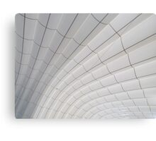 Sweeping ceiling lines Canvas Print