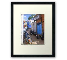 Streets of Jodhpur Framed Print