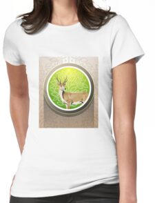 Flora fauna conservation Womens Fitted T-Shirt
