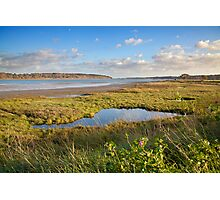Banks of the Orwell river Photographic Print