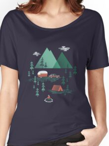 Gone Camping Women's Relaxed Fit T-Shirt