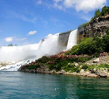 Niagara Falls - American Falls Cave of the Winds by CalumCJL