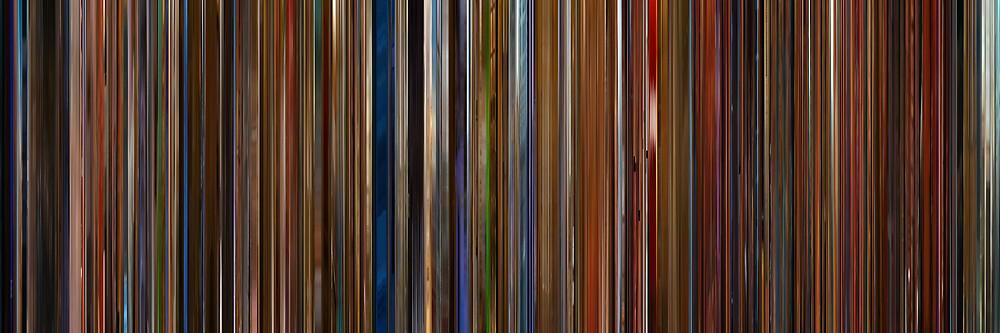 Moviebarcode: Ocean's Thirteen (2007) by moviebarcode