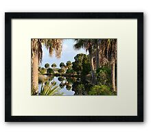 Reflection in the Canal Framed Print