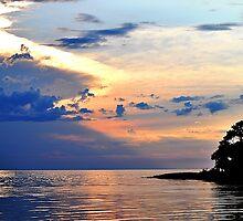 Bayport at Sunset by joevoz