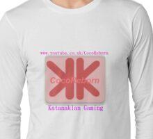 CocoReborn - KatanaKlan Gaming T-Shirt Long Sleeve T-Shirt