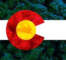 Colorado Chronic Flag by DrDank