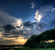 Summer Storm Sky Over Broad Creek by jimcrotty