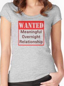Wanted Women's Fitted Scoop T-Shirt