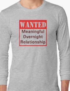Wanted Long Sleeve T-Shirt
